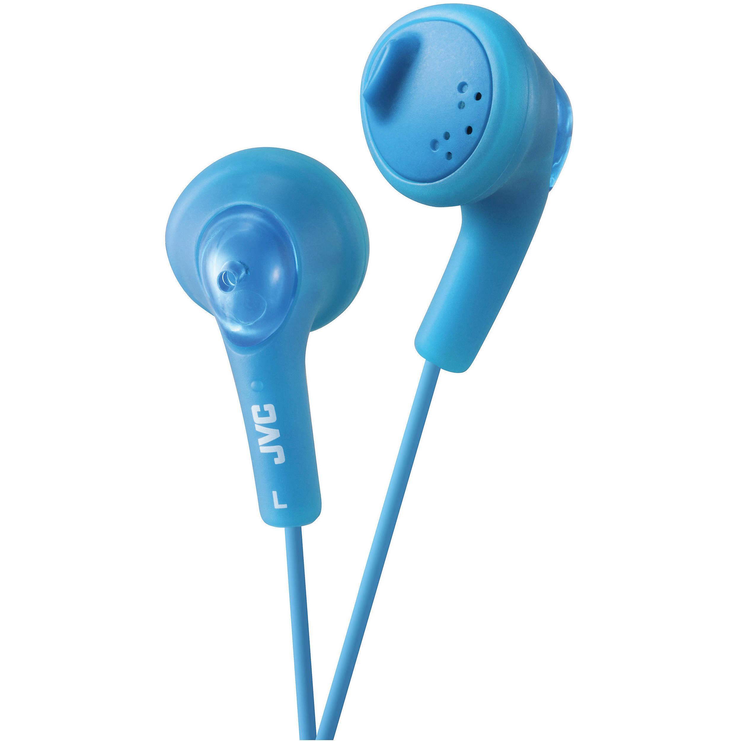 JVC HAF160W Gumy Ear Bud Headphone $9.99