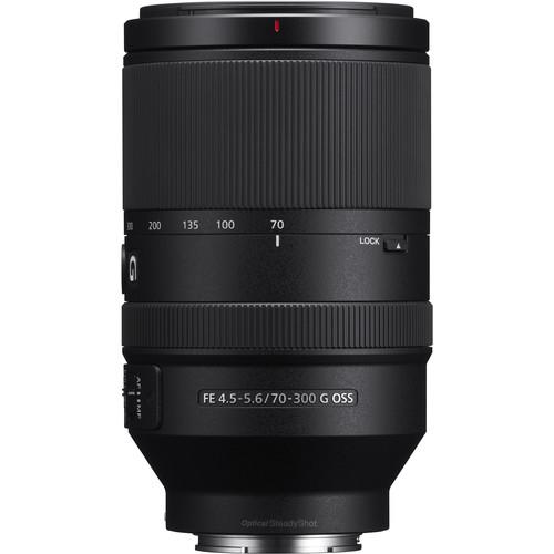 Sony FE 70-300mm F4.5-5.6 G OSS Lens $899.00