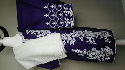 Three piece purple stylish suit $39.99
