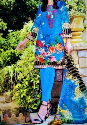TZCreation 3 piece stylish blue suit $34.99