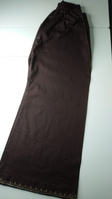 TZcreations trousers pants bottoms choclatey brown $16.99