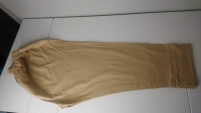 TZcreations trousers pants bottoms dull golden $18.99