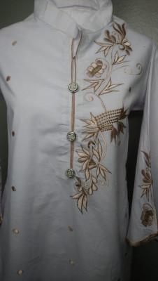 TZcreations kurti tops tunic White $21.99