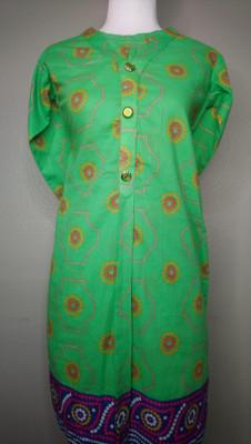 TZCreations kurti top tunics Green $23.99