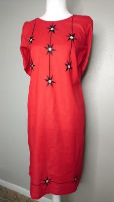 TZCreations Kurti Tops Tunic Red $21.99